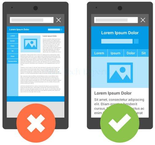google update on mobile friendly website