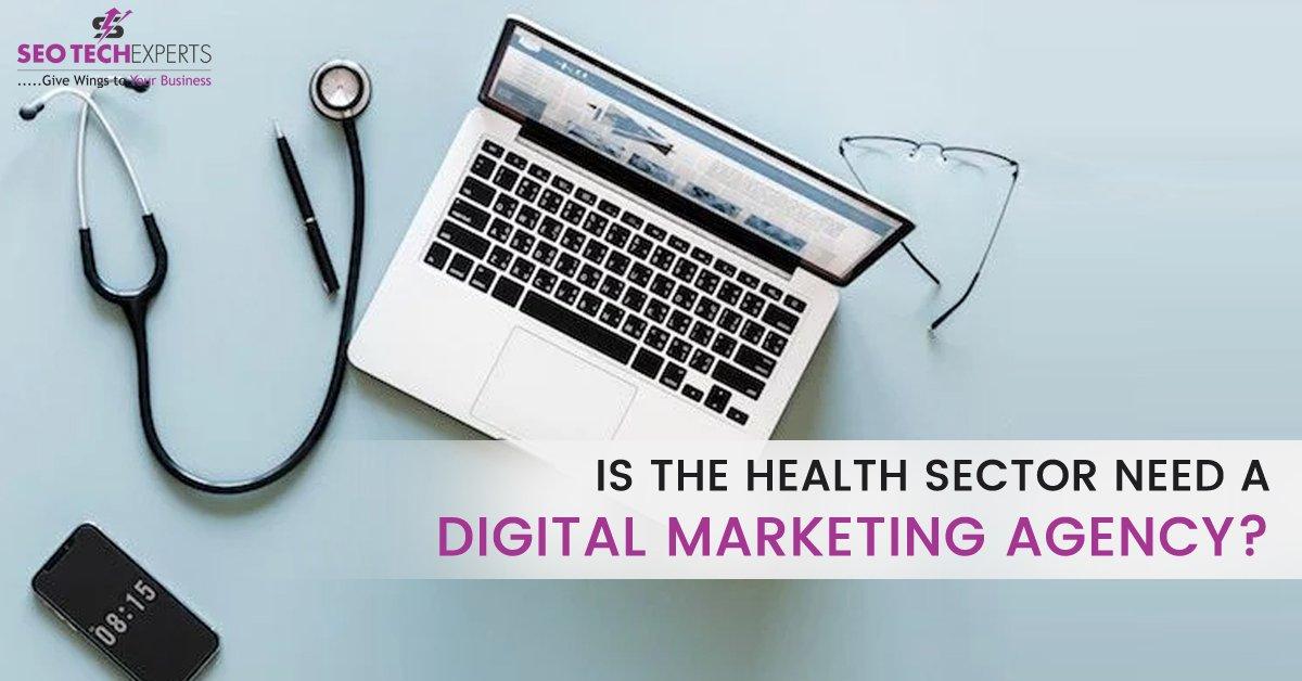 digital marketing agency for healthcare sector