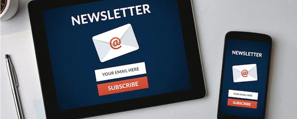 Newsletters and emails