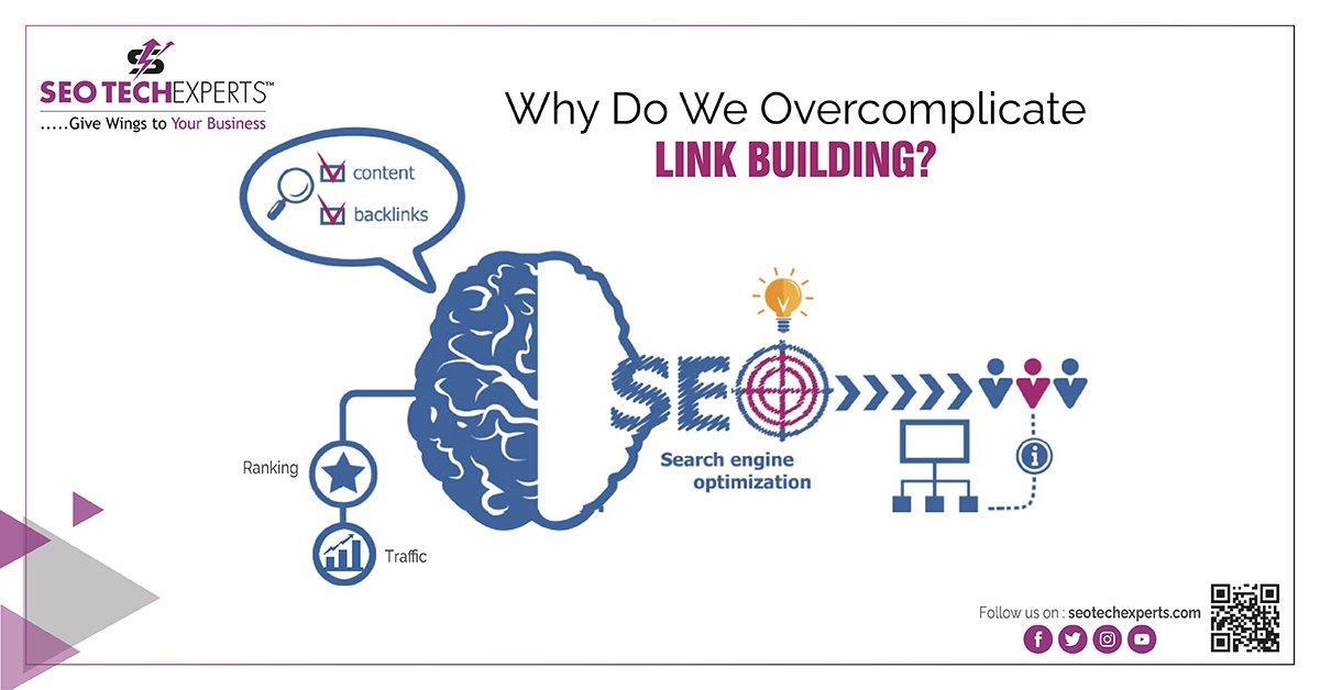 Overcomplicate link building